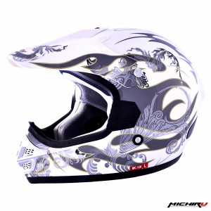 Шлем MICHIRU  MC 130 Белый